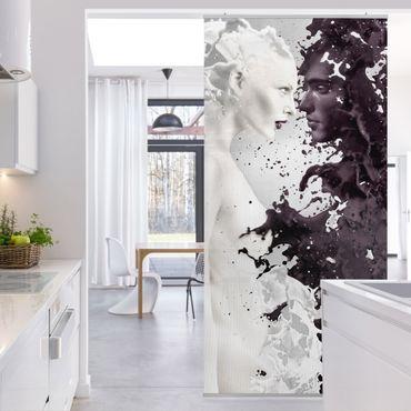 Raumteiler - Milk & Coffee 250x120cm