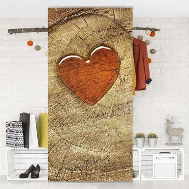 Raumteiler - Natural Love 250x120cm