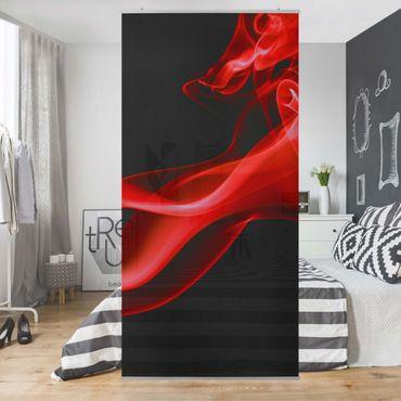 Raumteiler - Red Hot 250x120cm