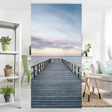 Raumteiler - Steg Promenade 250x120cm