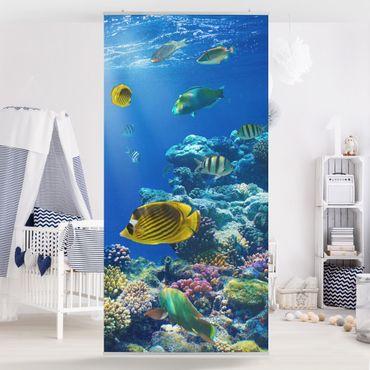 Raumteiler - Underwater Lights 250x120cm