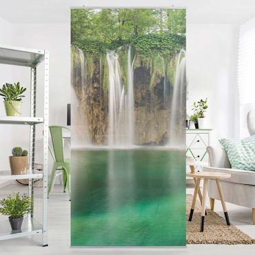 Raumteiler - Wasserfall Plitvicer Seen 250x120cm
