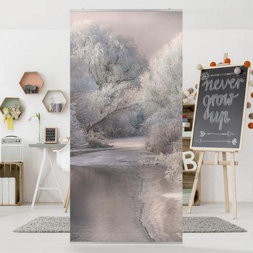 Raumteiler - Winter Song 250x120cm