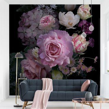 Fototapete - Rosentraum Bouquet
