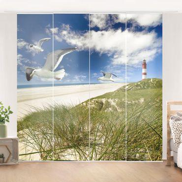 Schiebegardinen Set - Dune Breeze - Flächenvorhänge