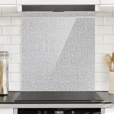 Spritzschutz Glas - Beton Ciré - Quadrat 1:1