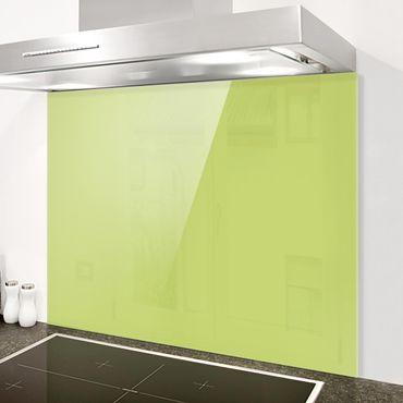 Spritzschutz Glas - Frühlingsgrün - Quer 4:3