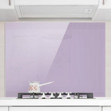 Spritzschutz Glas - Lavendel - Quer 4:3
