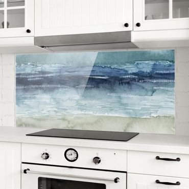 Spritzschutz Glas - Mariner Nebel I - Panorama