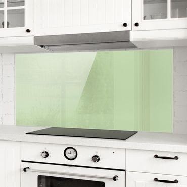 Spritzschutz Glas - Mint - Panorama Quer