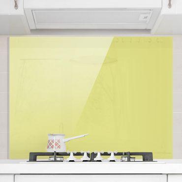 Spritzschutz Glas - Pastellgrün - Quer 4:3