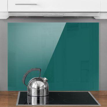 Spritzschutz Glas - Piniengrün - Quer 4:3