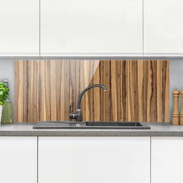 Spritzschutz Glas - Schwarze Olive - Panorama Quer