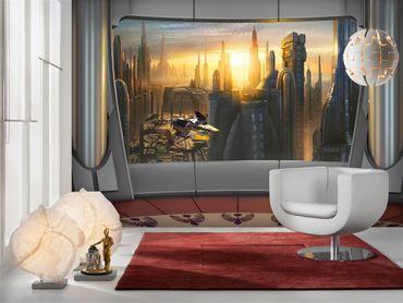 Star Wars Tapete - Coruscant - Komar Fototapete