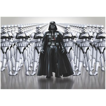 Star Wars Tapete - Darth Vader Stormtroopers - Komar Fototapete