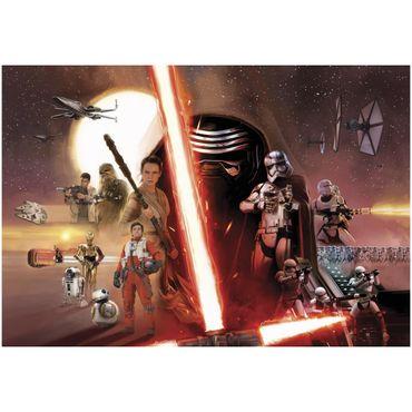 Star Wars Tapete - Kylo Ren Collage - Komar Fototapete