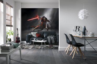 Star Wars Tapete - Kylo Ren Lichtschwert - Komar Fototapete