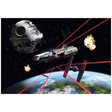 Star Wars Tapete - Millennium Falke - Komar Fototapete