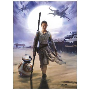 Star Wars Tapete - Rey - Komar Fototapete