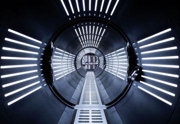 Star Wars Kindertapete - Tunnel - Komar Fototapete