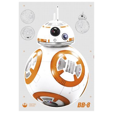Star Wars Wandtattoo - BB-8 - Komar Deco-Sticker