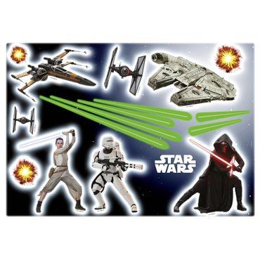 Star Wars Wandtattoo - Das Erwachen der Macht - Komar Deco-Sticker