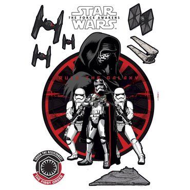 Star Wars Wandtattoo - Die Erste Ordnung - Komar Deco-Sticker