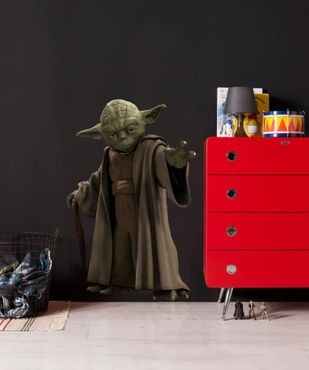 Star Wars Wandtattoo - Yoda - Komar Deco-Sticker