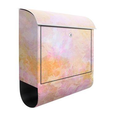 Briefkasten - Strahlender Blütentraum in Pastell