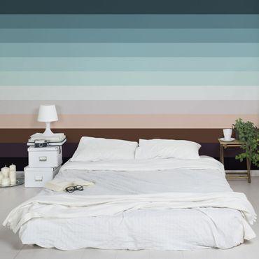 Fototapete Abstraktes Landschaftspanorama