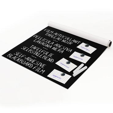 Tafelfolie magnetisch - Blackboard selbstklebend - Wohnzimmer