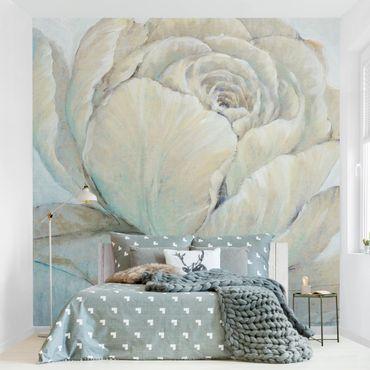 Fototapete - Englische Rose Pastell