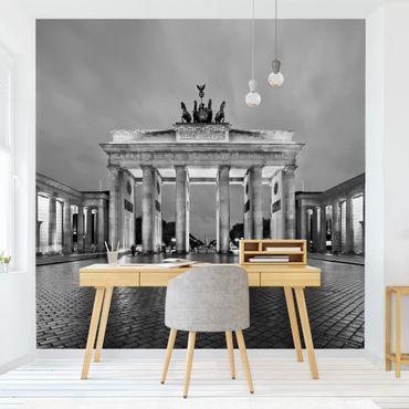 Fototapete Erleuchtetes Brandenburger Tor II