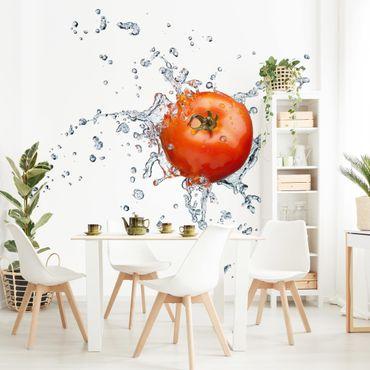 Fototapete Frische Tomate