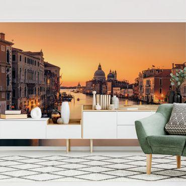 Fototapete - Goldenes Venedig