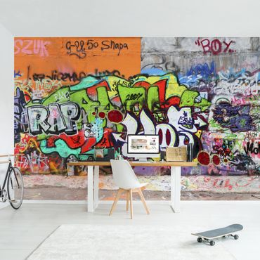 Fototapete Graffiti Wall