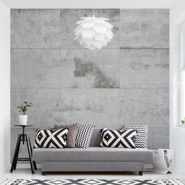 Fototapete Große Betonplatten