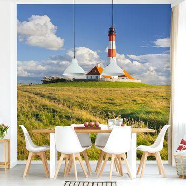 Fototapete Leuchtturm in Schleswig-Holstein