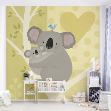 Fototapete - Mama und ich - Koalas