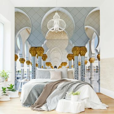Fototapete Moschee in Abu Dhabi