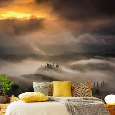 Fototapete Nebelwellen