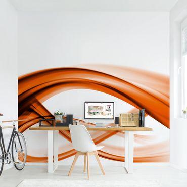 Fototapete Orange Element