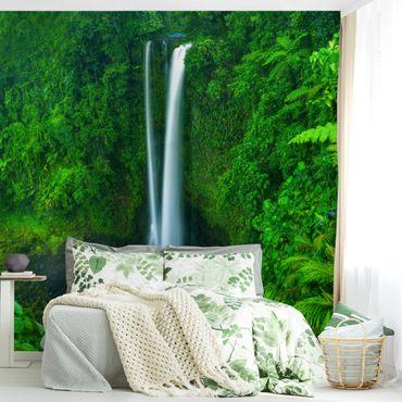 Fototapete Paradiesischer Wasserfall