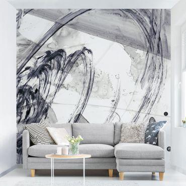 Fototapete - Sonar Schwarz Weiß I