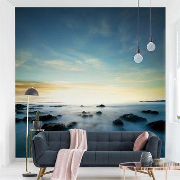 Fototapete Sonnenuntergang über dem Ozean