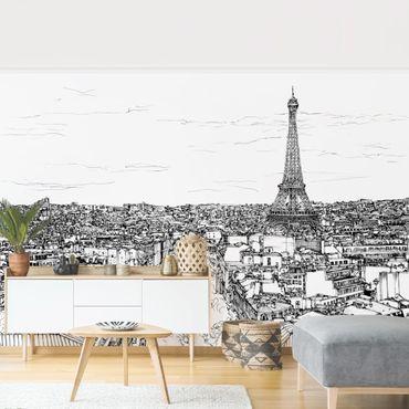 Fototapete - Stadtstudie - Paris