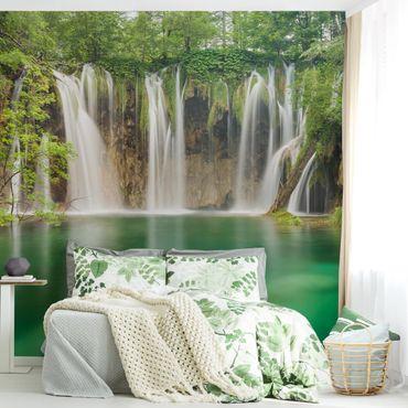 Fototapete Wasserfall Plitvicer Seen