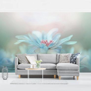 Fototapete Zarte Blüten in Pastell