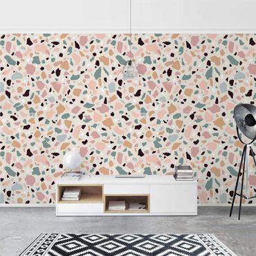 Fototapete - Terrazzo Muster Napoli