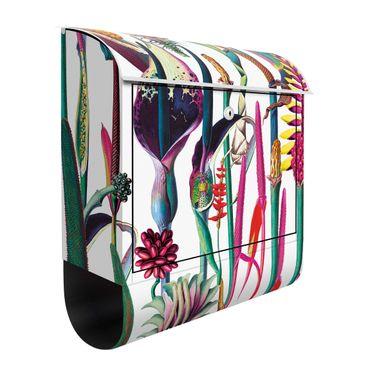 Briefkasten - Tropisches Luxus Muster XXL